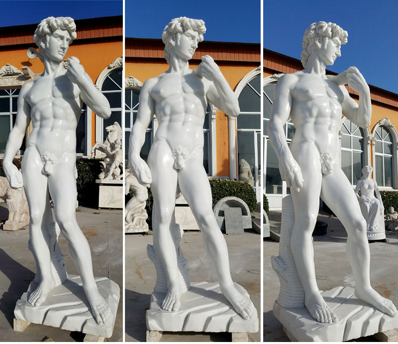 Factory supply michelangelo david sculpture replica for sale
