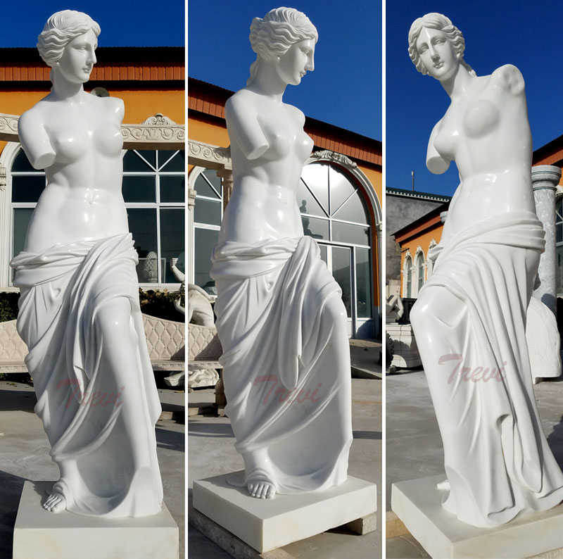 Famous modern marble art sculptures life size Venus de milo marble statues designs for outdoor decoration in italy