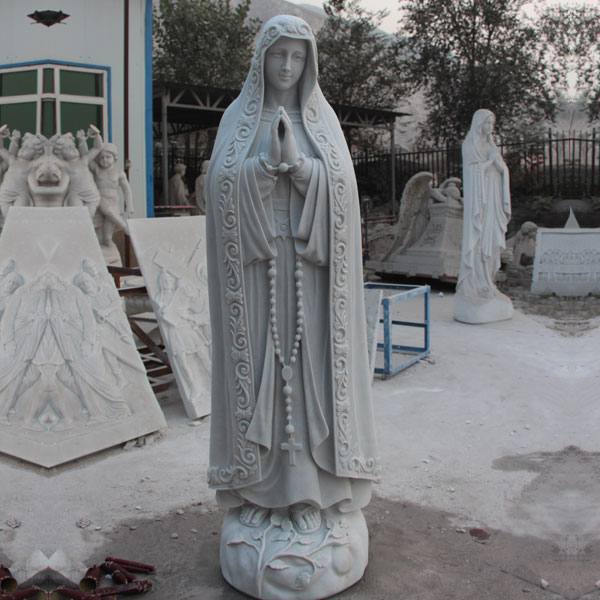 Outdoor catholic saint statues our lady of Fatima for sale