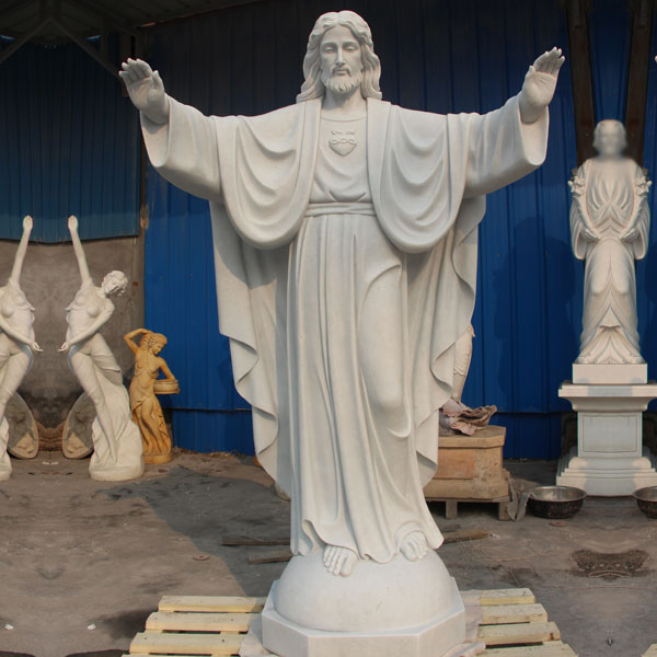 Scared heart of Jesus christ garden statues costs