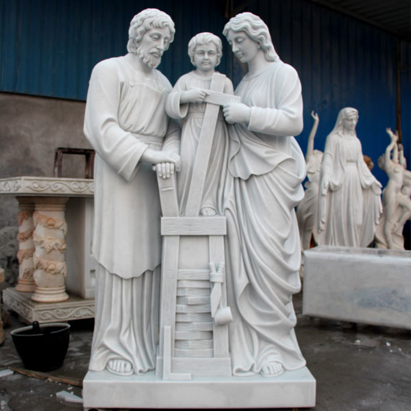 No. TCH-35 catholic Holy family garden marble statues and decor online sale