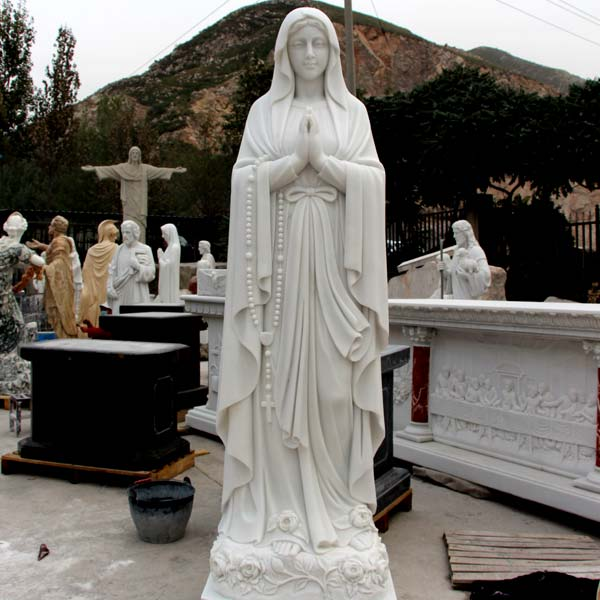 No. TCH-27 Catholic garden statues and decor our lady of Lourdes for sale
