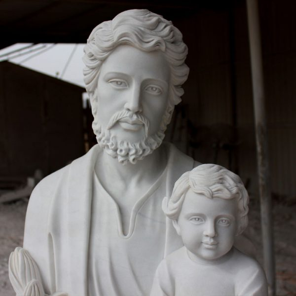 TCH-34 Catholic saint religious garden statues of Saint Joseph to buy
