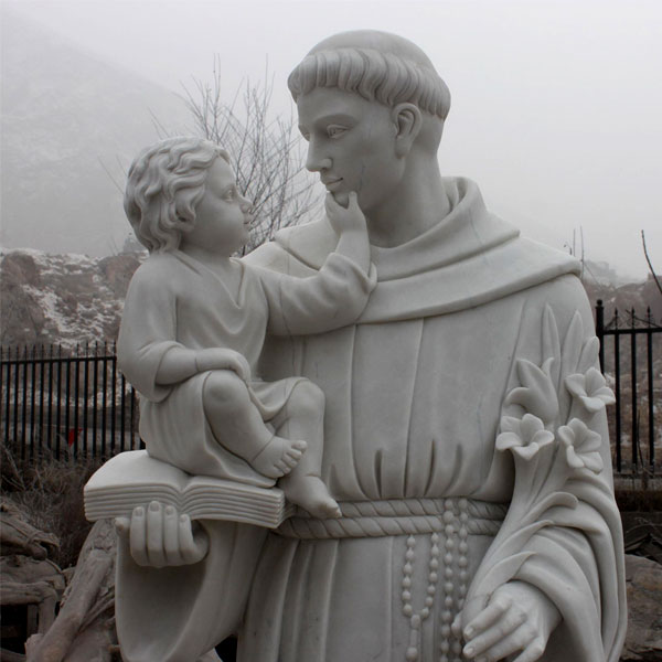 No. TCH-44 Catholic saint statues of Anthony outdoor for sale from churches
