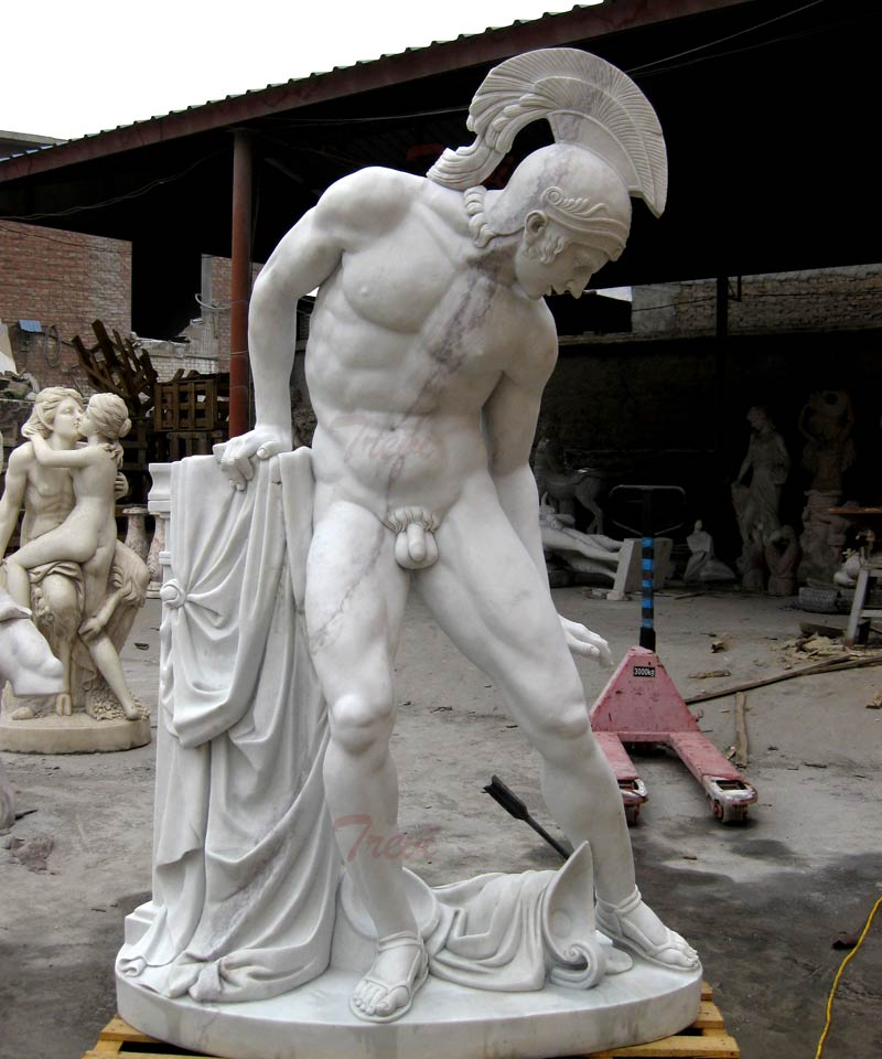 Famous art God of war Ares statues marble replicas designFamous art God of war Ares statues marble replicas design