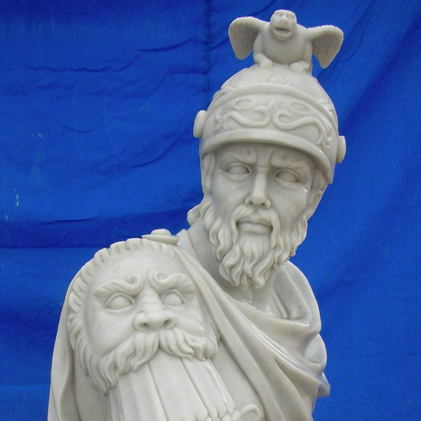 TCH-03 Famous art marble carving sculptures of warriors Rome