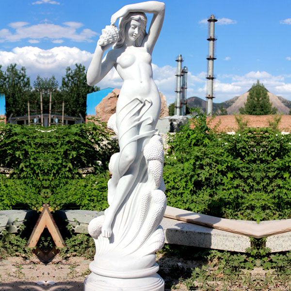Garden decor Life size famous artists design sculpture Sea nymph by Ferdinando Vichi