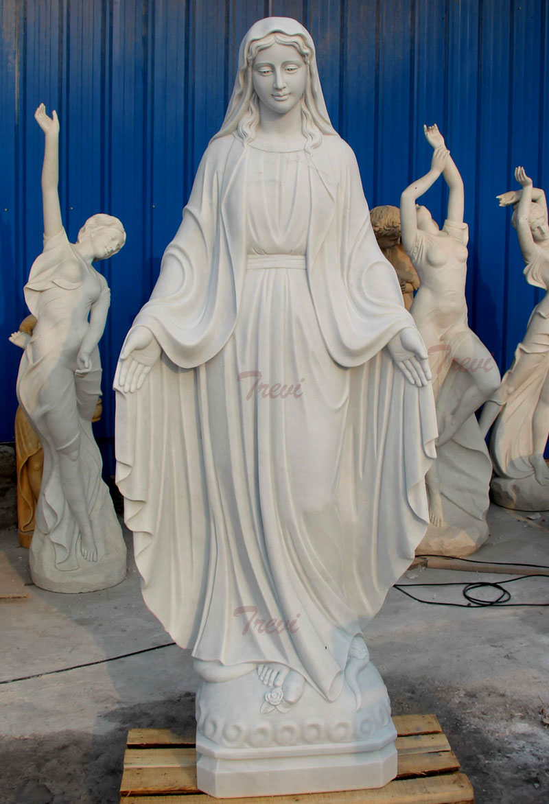 Life size catholic sculptures our lady of grace designs