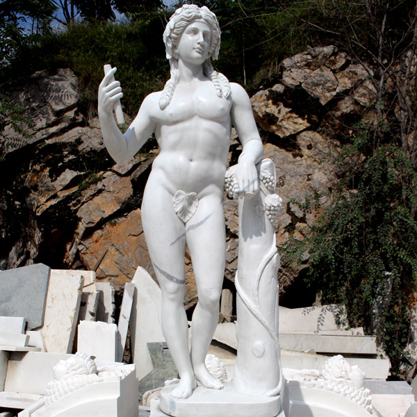 TCH-13 Life size marble famous sculptures God of wine Dionysus for sale