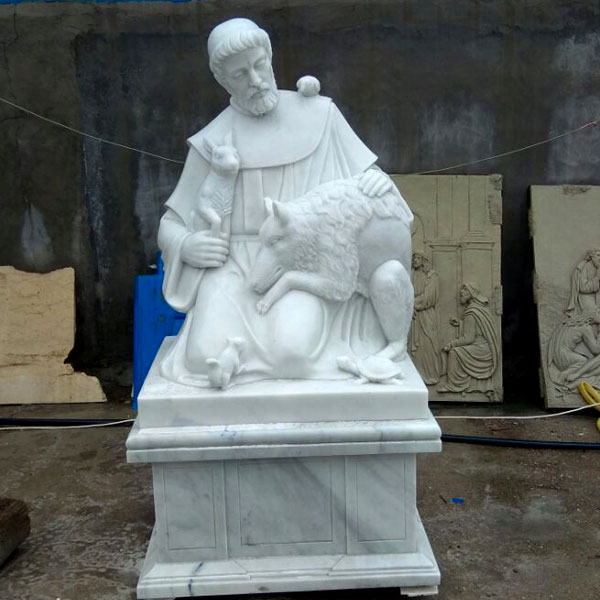 TCH-47 Outdoor catholic saint statues of St Francis for churches