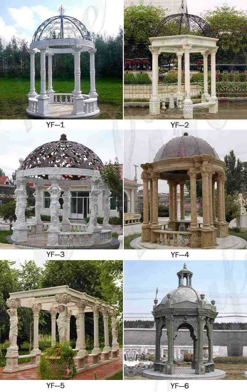 Outdoor White Marble Gazebo Related Products