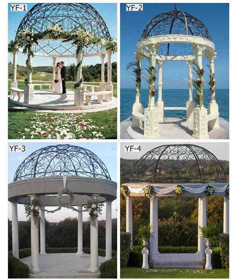 Beautiful Beige Marble Wedding Gazebo Decorations Related Products