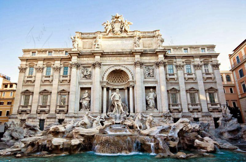 World Famous Marble Trevi Fountains Replica Luxurious Marble Fountains for Original