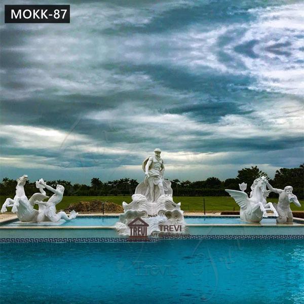 Large Marble Trevi Fountains Replicas Estate Decoration for Sale MOKK-87