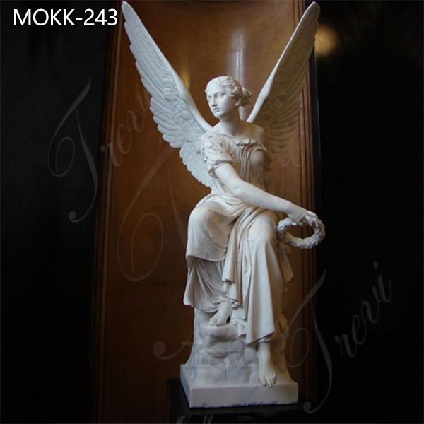 Hand Carved Angel Marble Statue for Sale MOKK-243